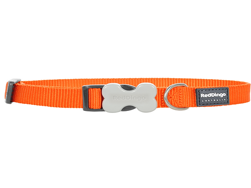 Red Dingo Adjustable Collar - Classic Orange
