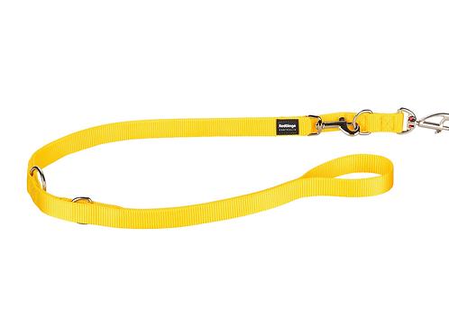 Red Dingo Multipurpose Training Lead - Classic Yellow - Medium 20mm