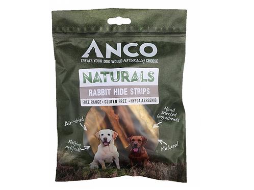 Anco Naturals Rabbit Hide Strips - 80g