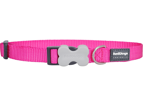 Red Dingo Adjustable Collar - Classic Hot Pink