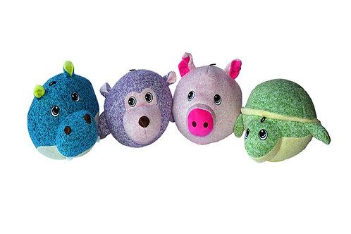 Gor Hugs Softballs - 19cm - Hippo / Monkey / Turtle / Pig