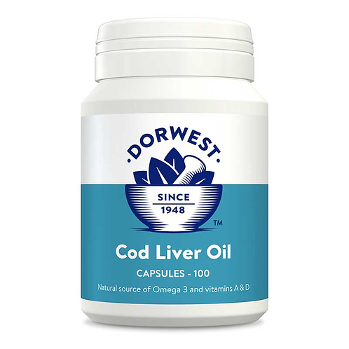 Dorwest Cod Liver Oil Tablets - 100 or 200 Tablets