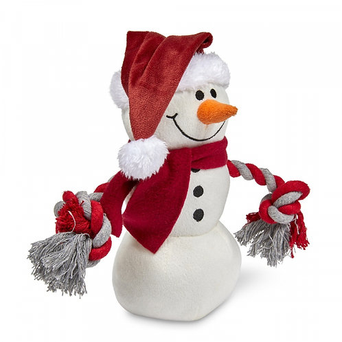 Christmas Snowman by Petface