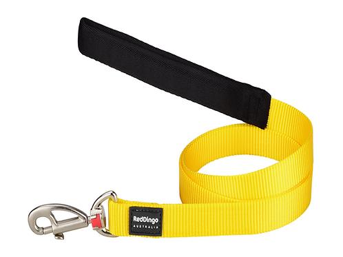 yellow dog, yellow dog lead, adjustable dog lead, i need space lead, worried dog, bright dog lead, yellow puppy lead