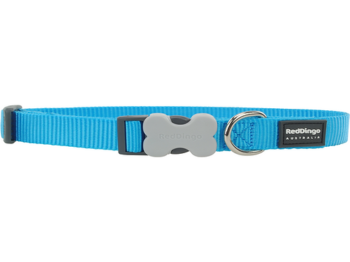 Red Dingo Adjustable Collar - Classic Turquoise