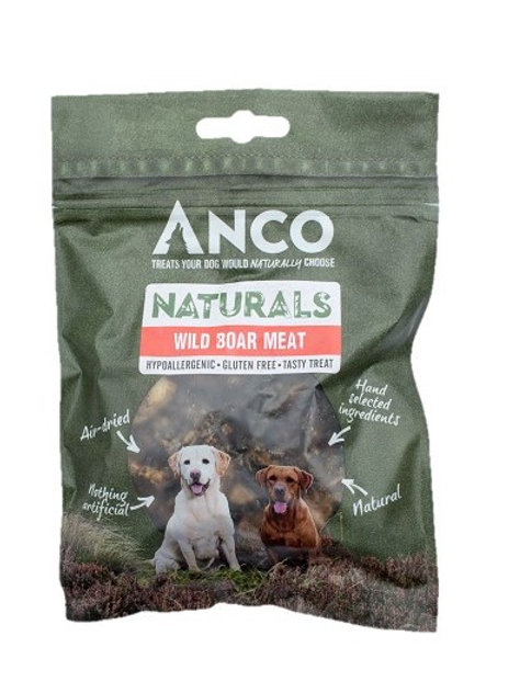 Anco Naturals Wild Boar Meat Treats - 85g