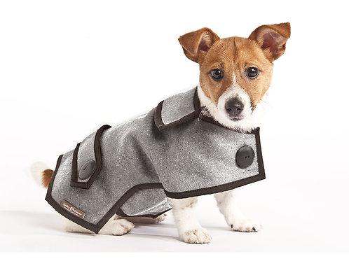 Casual Wool Coat - Grey
