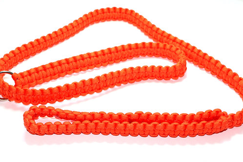 Paracord Slip Lead - Orange - 1.3m