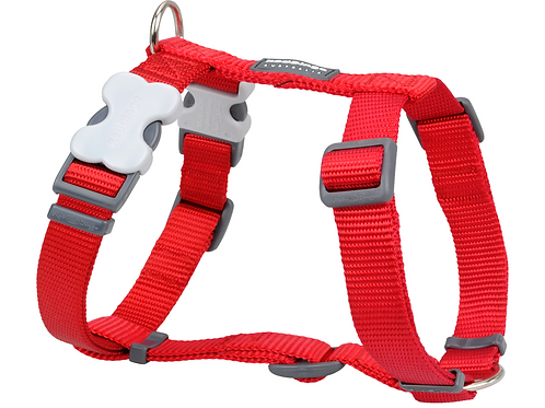 Red Dingo Adjustable Harness - Classic Red