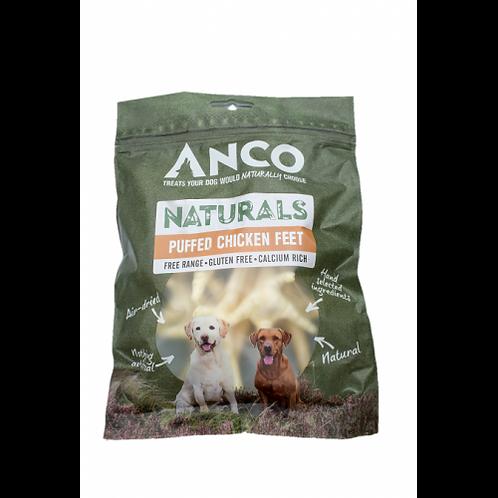 Anco Naturals Puffed Chicken Feet - 80g