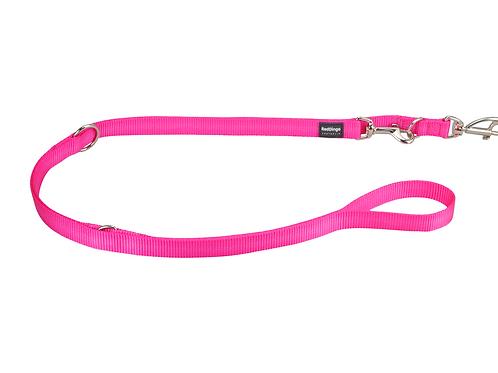 Red Dingo Multipurpose Training Lead - Classic Hot Pink - Medium 20mm