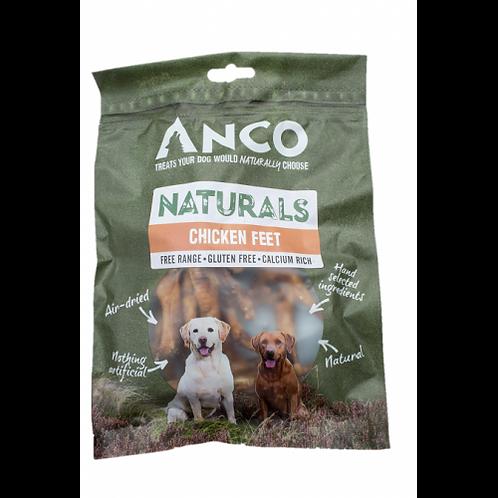Anco Naturals Chicken Feet - 100g