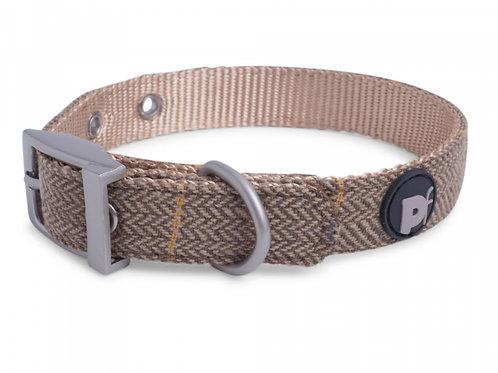 Tan Tweed Adjustable Collar by Petface