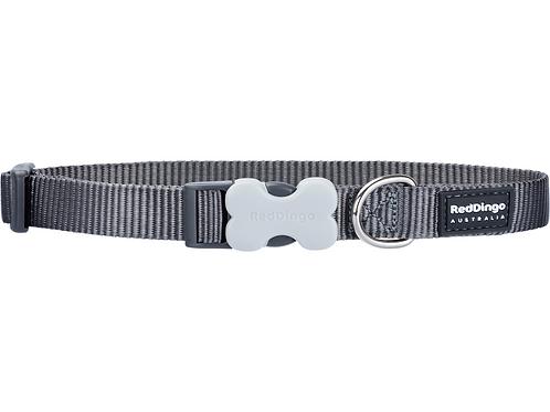 Red Dingo Adjustable Collar - Classic Cool Grey
