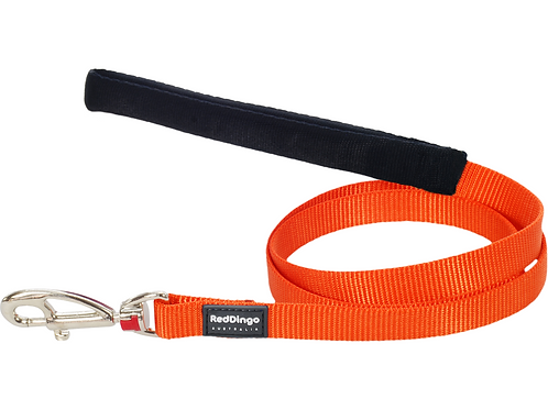 Red Dingo Lead - 1.2m/4ft - Classic Orange