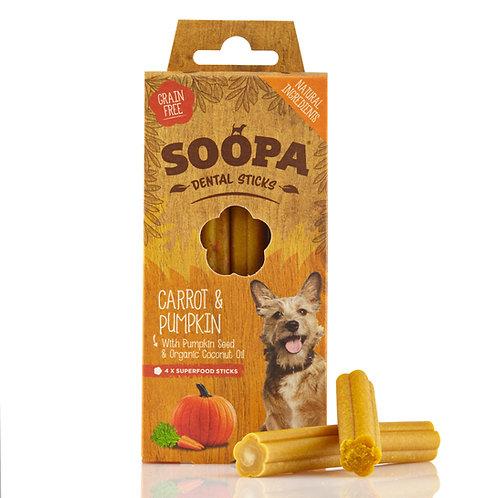 Soopa Dental Sticks - Carrot & Pumpkin
