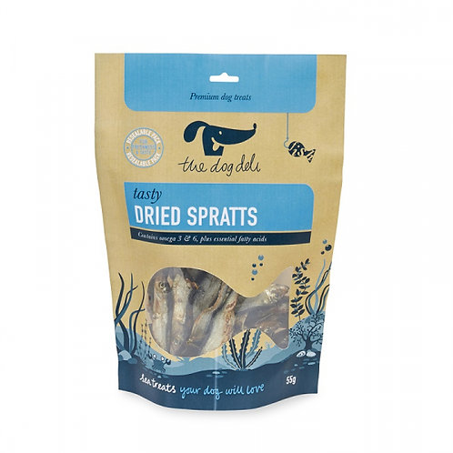 The Dog Deli Dried Sprats - 55g