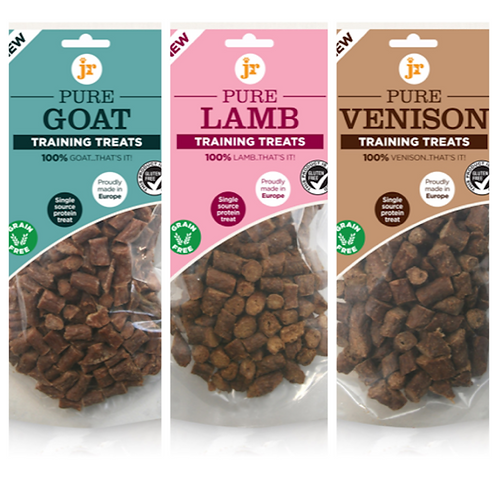 Pure Training Treats by JR Pet Products - Various Flavours