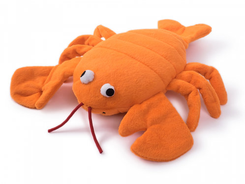 Seriously Strong Tough Plush and Rubber Lobster by Petface