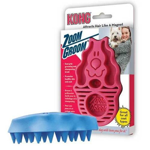 KONG Zoom Groom Dog/Puppy Grooming Brush - Large