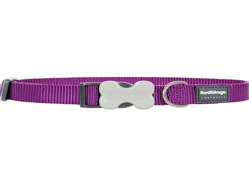 Red Dingo Adjustable Collar - Classic Purple