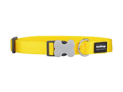 Red Dingo Adjustable Collar - Classic Yellow