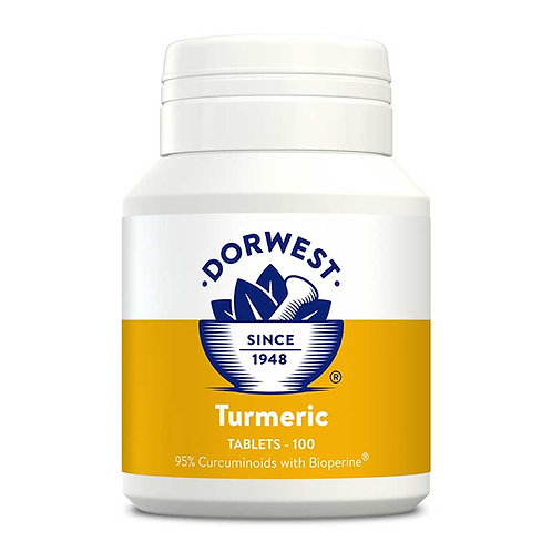 Dorwest Turmeric Tablets - 100 or 200 tablets