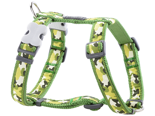 Red Dingo Adjustable Harness - Camouflage Green