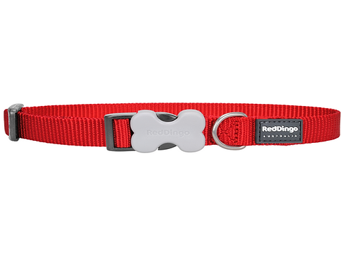 Red Dingo Adjustable Collar - Classic Red