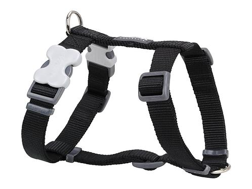 Red Dingo Adjustable Harness - Classic Black