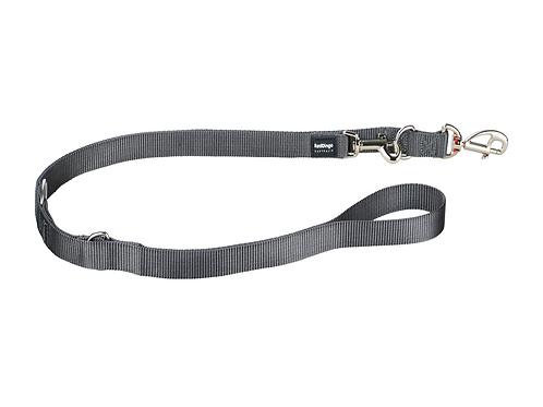 Red Dingo Multipurpose Training Lead - Classic Cool Grey - Medium 20mm