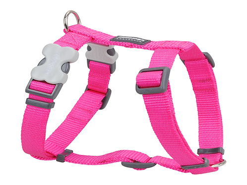 Red Dingo Adjustable Harness - Classic Hot Pink