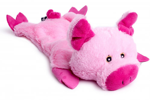 Farmyard Buddies Crinkle Flat Pig by Petface