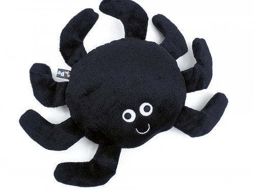 Seriously Strong Tough Plush and Rubber Izzy Spider by Petface