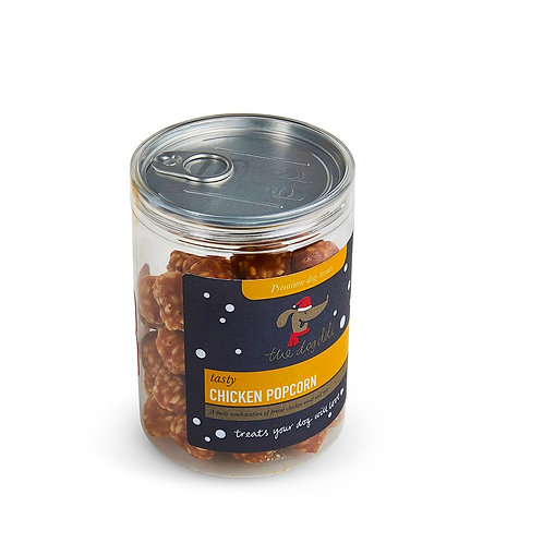 Dog Deli Chicken Popcorn Gift Jar - 240g