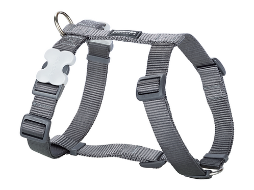 Red Dingo Adjustable Harness - Classic Cool Grey