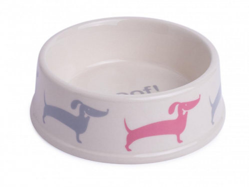 Dog Deli Ceramic Food/Water Bowl by Petface