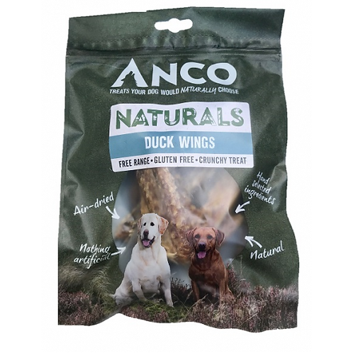 Anco Naturals Duck Wings - 5pk