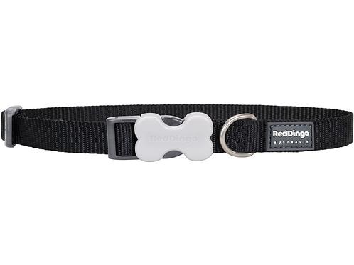 Red Dingo Adjustable Collar - Classic Black