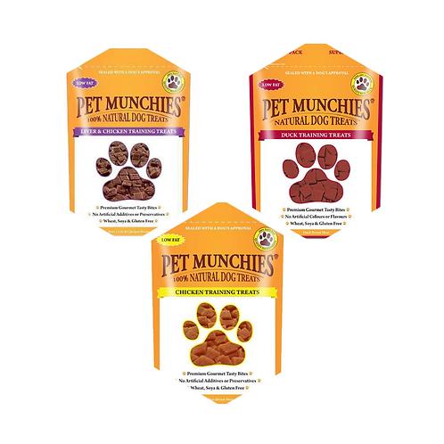 Pet Munchies Training Treats - 50g - Various Flavours