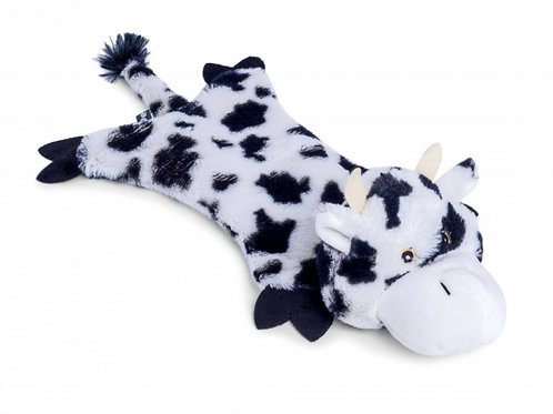 Farmyard Buddies Crinkle Flat Cow by Petface