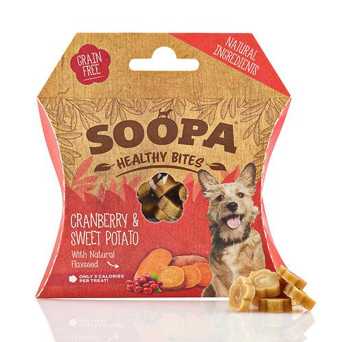 Soopa Healthy Bites - Cranberry & Sweet Potato