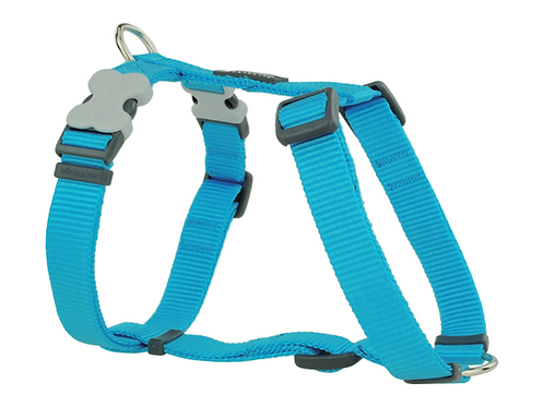 Red Dingo Adjustable Harness - Classic Turquoise