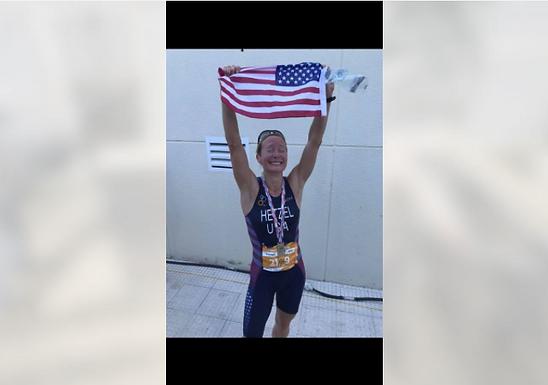 Wheeling Native Kristen Hetzel Takes Bronze At Duathlon
