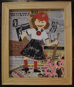 Dottie Kamenshek by Christine Ochs-Naderer.