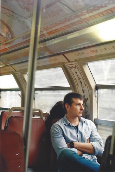 Man in France- Copyright of Sarah Oglesby 2020