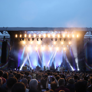 Crowd at Noel Gallagher