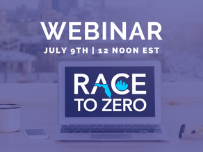WEBINAR: Learn How Your City Can Join The Race to Zero and Take Advantage of the Resources Available