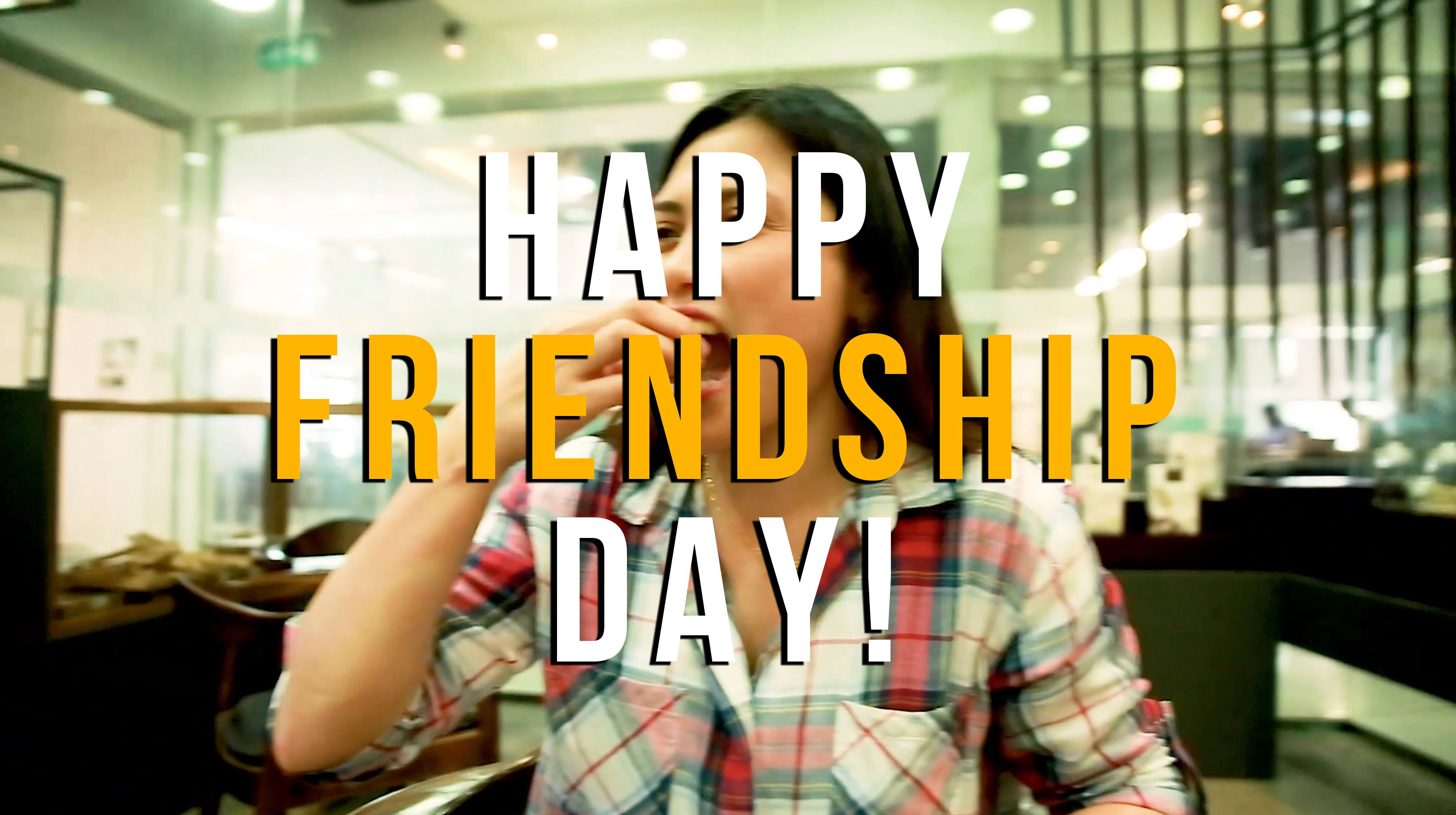 Keep the #goodtimes #rolling 😉 ~ Happy Friendship Day! 👫👭👬