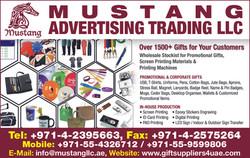 MUSTANG ADVERTISING TRADING 42CH